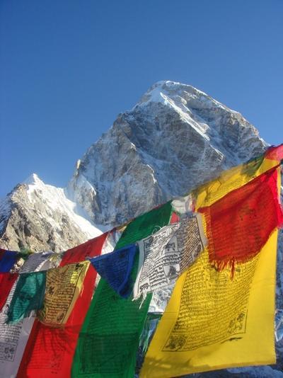 Beautiful Himalayas in Nepal