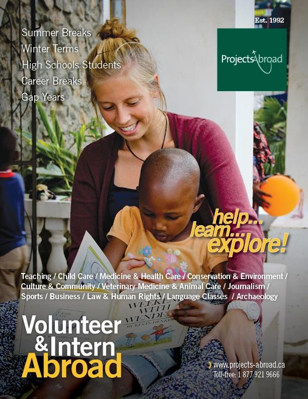 Volunteer abroad programs for adults