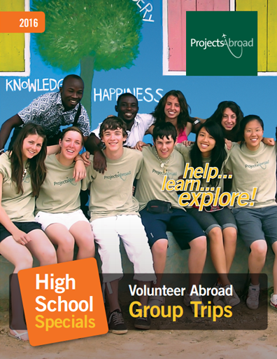 High School Specials Leaflet