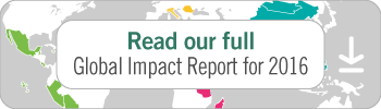 Read our full Global Impact Report for 2016 for insight into 2016's highlights.