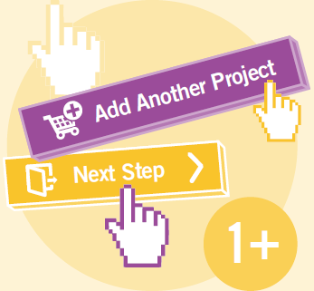 You have the option of applying for another project and combining projects and destinations.