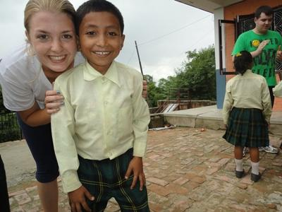 Volunteer at a care centre in Nepal