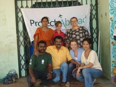 Volontaires en Asie