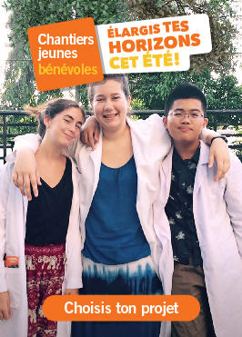Chantiers jeunes bénévoles