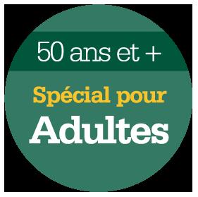 Adultes 50 et +