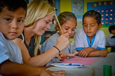 Mission volontaire en arts créatifs aux Galapagos