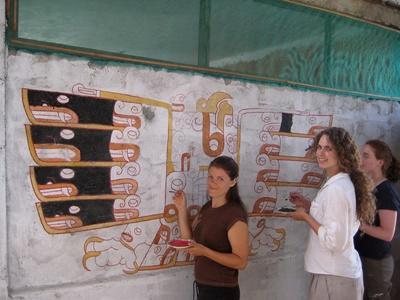 Chantier de fouilles étranger