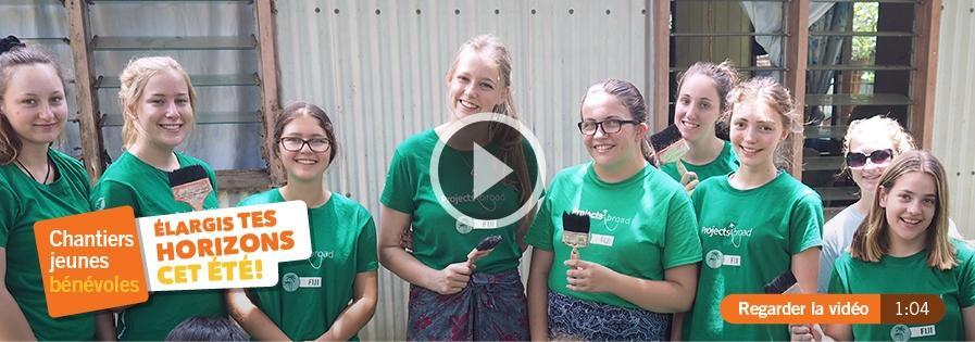 Des missions de volontariats pour les étudiants pendant les congés d'été