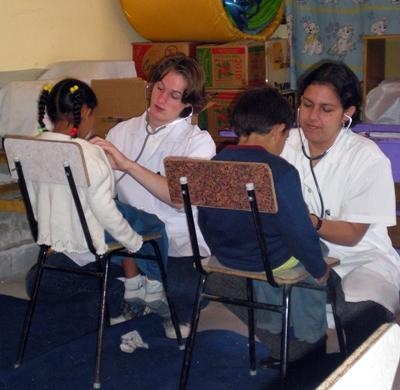 Medicine in Bolivia for High School Students