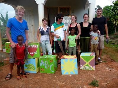 Chantier de jeunes humanitaire