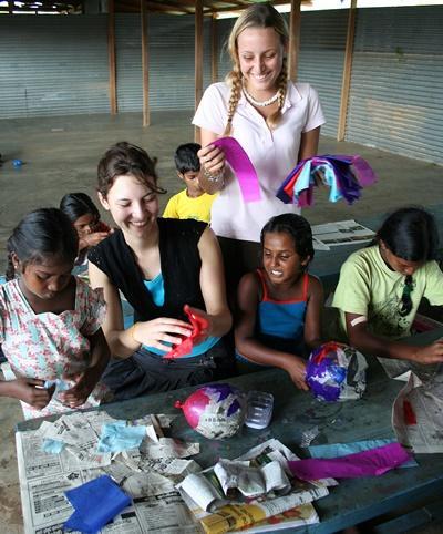 Chantier International Humanitaire Sri Lanka