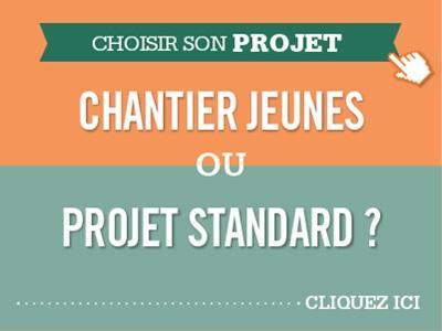 Chantiers jeunes bénévoles ou Project Standard