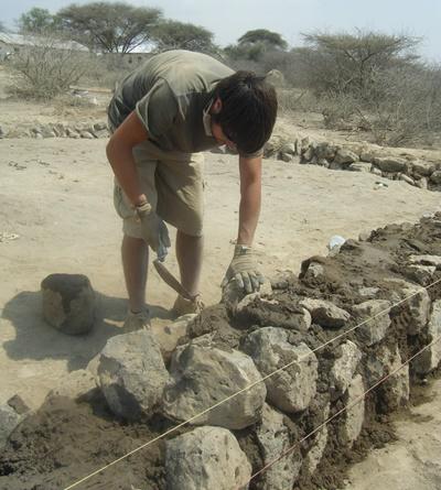 Chantier de construction en Afrique de l'Est