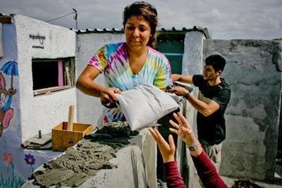 Volontaires en projet communautaire au Cap