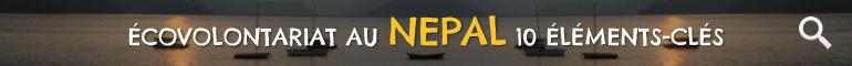 Ecovolontariat au Népal 10 Éleménts-Clés