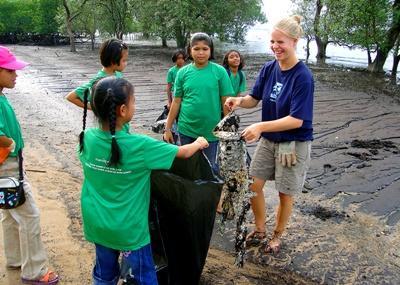 Stage en éducation environnementale en Thaïlande