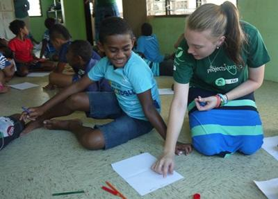 Volunteer Teaching Conservation with Projects Abroad