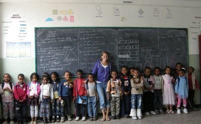 Enseignement humanitaire en Éthiopie