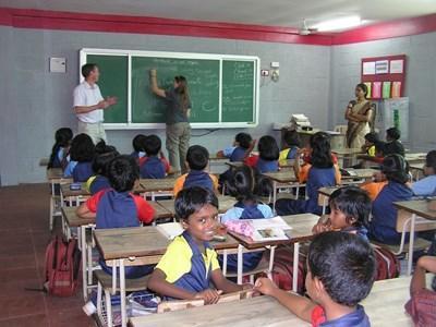 Mission en enseignement en Inde