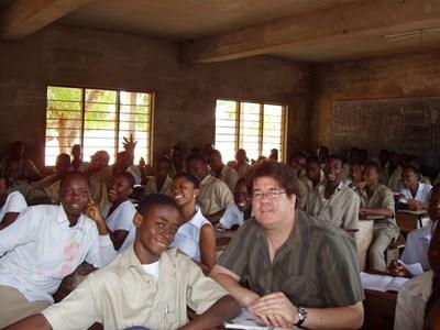 Donner des cours au Togo