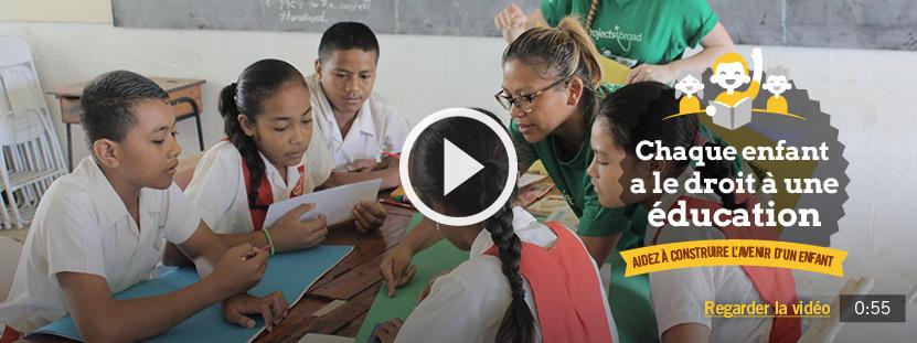 Partez en tant que volontaire en enseignement et éduquez les enfants de pays en développement, de l'Afrique à l'Asie.
