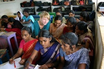 Enseignement humanitaire en Inde