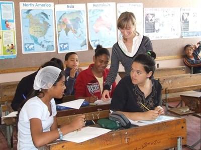 Enseignement humanitaire en Afrique du Sud