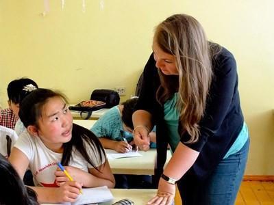 Travailler dans une école en Mongolie