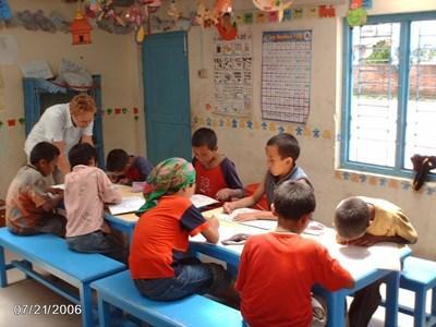 Mission enseignement au Népal