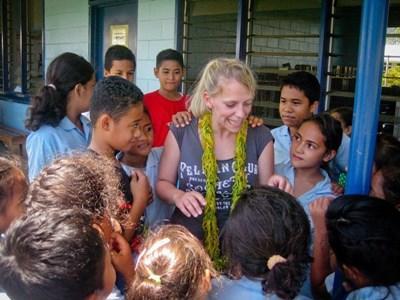 Bénévolat dans l'enseignement aux Samoa