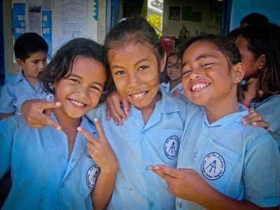 Bénévolat éducation Samoa