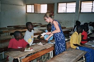 Enseignement humanitaire au Sénégal