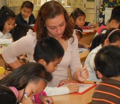 Enseignement humanitaire au Vietnam