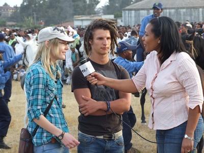 Journalisme reporter en Éthiopie