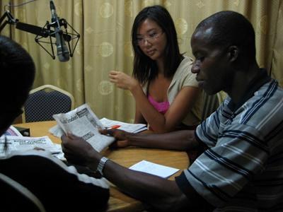 Stage en journalisme sportif au Ghana