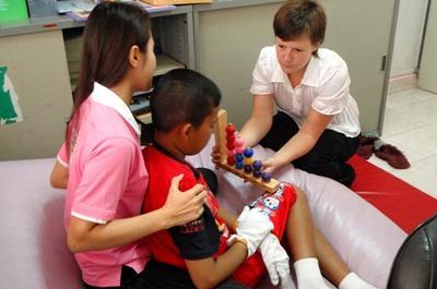 Mission de volontariat en kinésithérapie au Cambodge