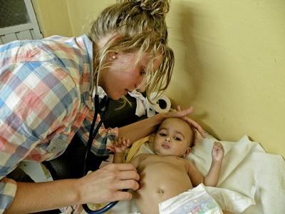 Stage médical en maternité en Éthiopie