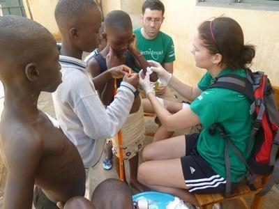 Volontaire en mission medicine au Togo