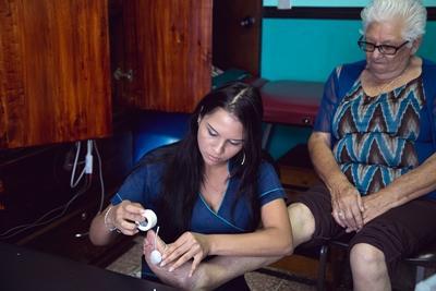Volontaire en stage de physiothérapie au Costa Rica