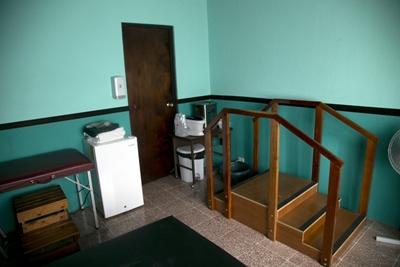 Cabinet de physiothérapie au centre de jour au Costa Rica