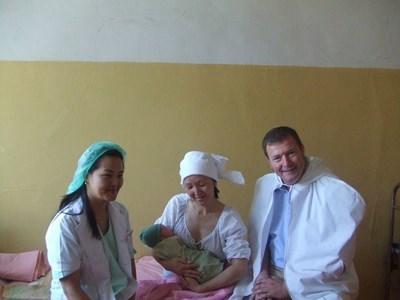 Stagiaire accoucheur en Mongolie