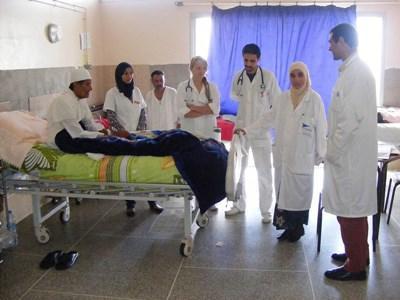 Soins infirmiers au Maroc