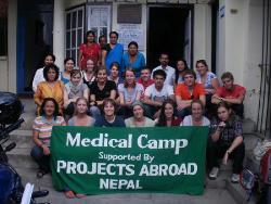 Campagne de sensibilisation médicale au Népal