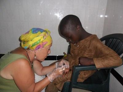 Infirmière Humanitaire avec les Talibés du Sénégal