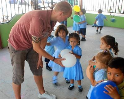 Mission humanitaire avec enfants