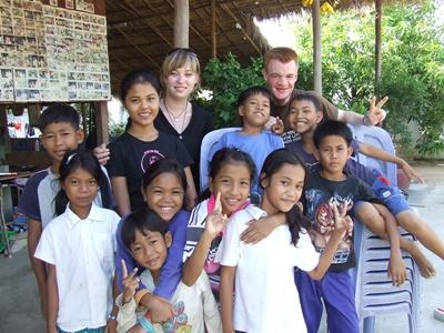 Action humanitaire Cambodge