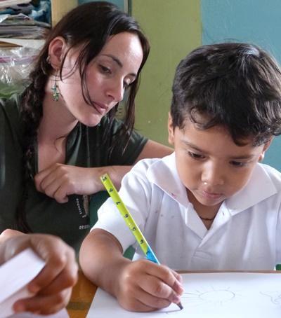 Mission d'aide sociale en Équateur