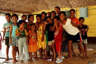 Volontaire humanitaire au Samoa