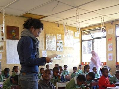 Action humanitaire enseignement Éthiopie