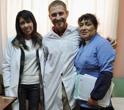 Psychologues volontaires et péruviens